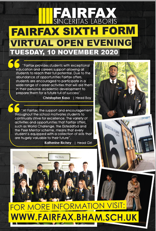 Sixth Form Application Details
